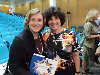 Rosa Dembitzer and Professor Ephrat Levy-Lahad - Prevention GENEration Program